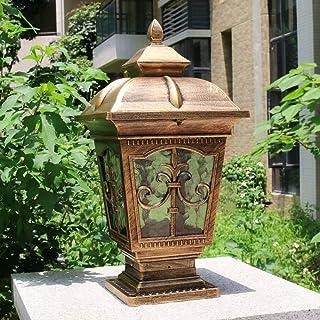IP65 Waterproof Retro Fence Column Pillar Lamp Villa Decoration DoorPath Lantern Exterior Illumination Landscape Wall Head...