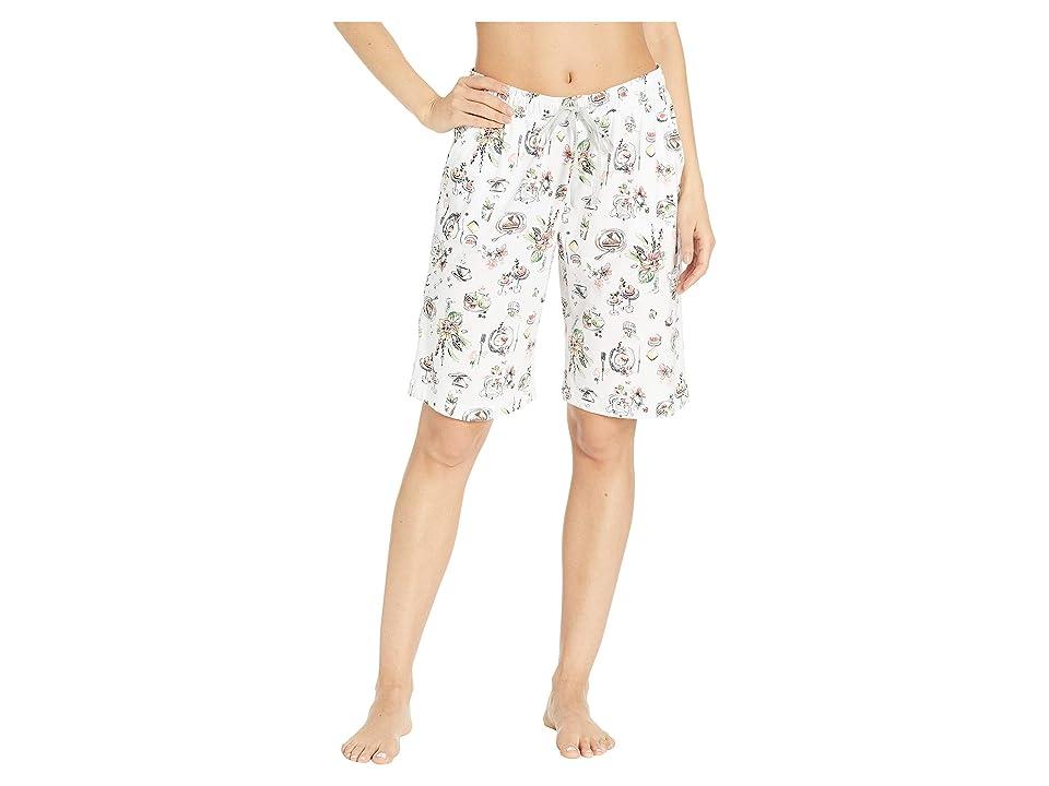 Karen Neuburger Sunday In Sorrento Bermuda Shorts (Novelty/Peach) Women