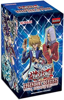 Yu-Gi-Oh! Trading Cards Yu-Gi-Oh! Cards: Legendary Duelist Season 1 Box | 6 Ultra Rares | 1 Secret Rare, Multicolor, 08371...