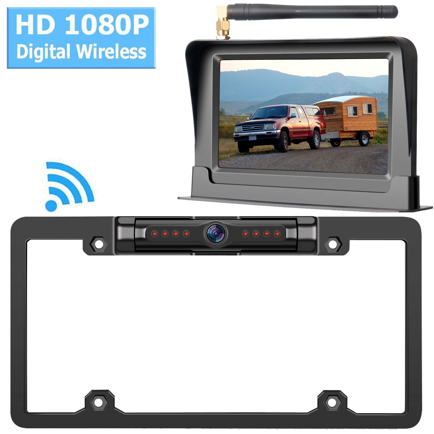 Motorhome High Speed Observation Waterproof Continous