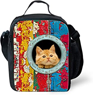 FOR U DESIGNS Back to School Thermo Lunch Box for Kids Keep Food Warm by FOR U DESIGNS