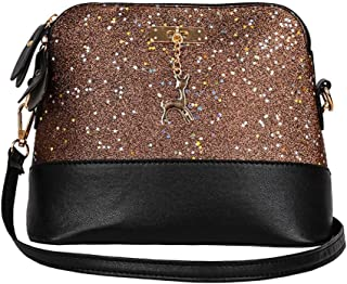 WILLTOO Womens Sequins Bag Fashion Handbag Purse Crossbody Shoulder Messenger Bag Deer