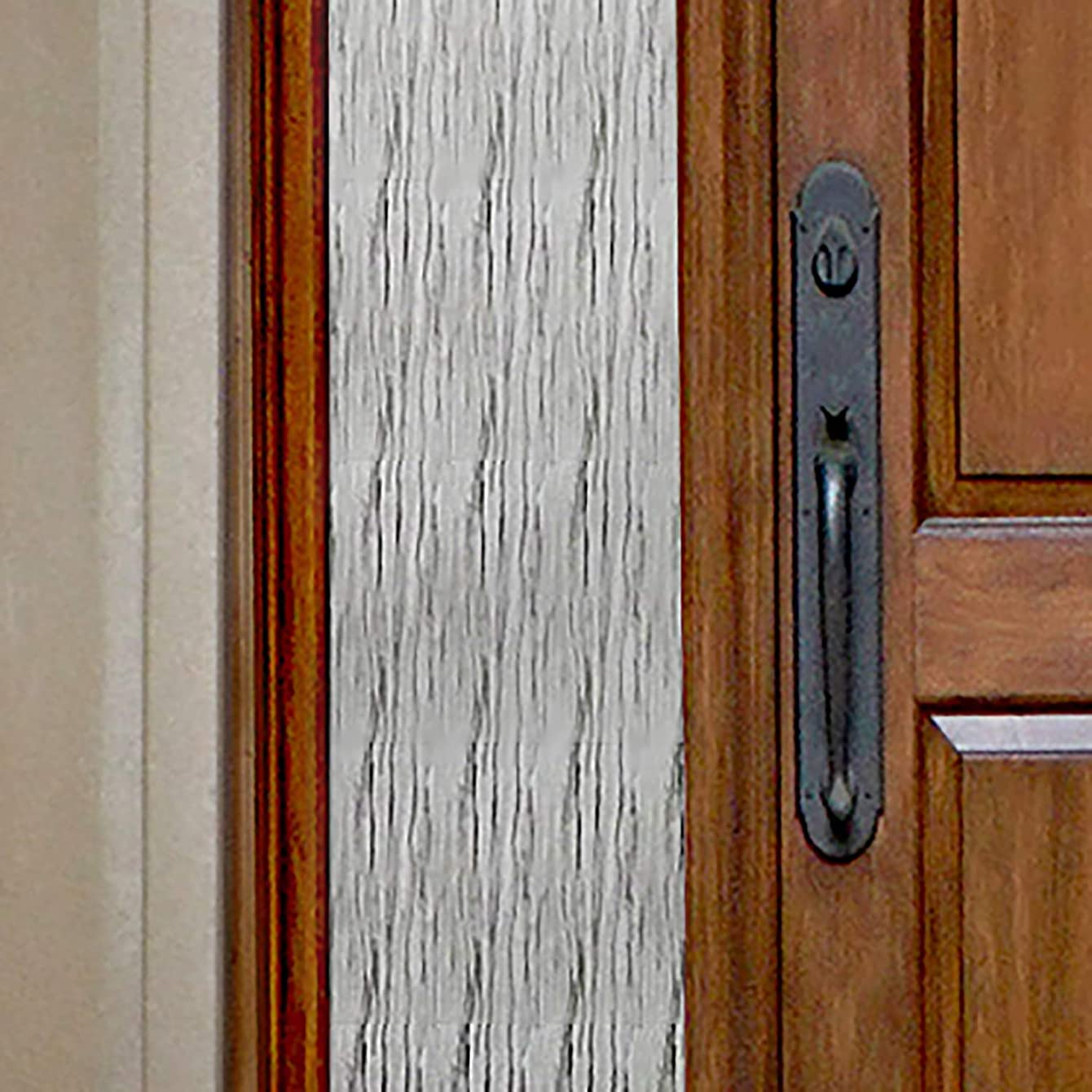 Gila Privacy Control Waterfall Sidelights Entryway Residential Window Film DIY Static Cling Easy Install 1ft x 6.5ft (12in x 78in) (6.5 sq ft)