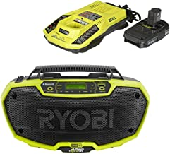 Radio Hybrid Stereo Bluetooth Wireless Technology with charger and battery