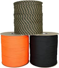 SGT KNOTS Dacron Polyester Accessory Cord (3mm - 6mm) 100% Polyester Rope - Multi-Purpose Polydac Line - for Boating, DIY Projects, Crafting, Cargo Tie-Downs, Camping, More (10 ft - 100 ft)