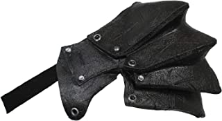 Ghoulish Productions Latex Pauldron Shoulder Armor (Black)