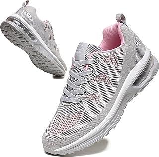 BUBUDENG Femme Basket Chaussures de Sport Running Course Sport Fitness Sneakers Chaussures de Running sur Route Outdoor Ca...
