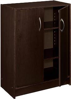 ClosetMaid 8925 2-Door Stackable Laminate Organizer, Espresso (Renewed)