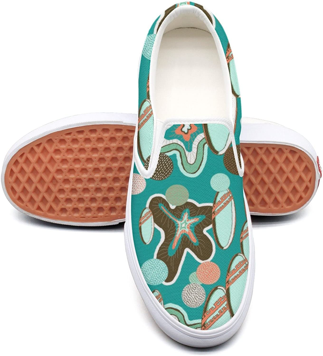 SEERTED Summer Beach Surfboard Comfortable Sneakers for Standing All Day