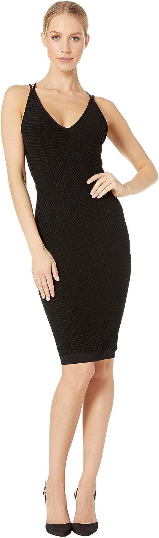 BCBGeneration Women's Strappy Cutout Sheath Dress