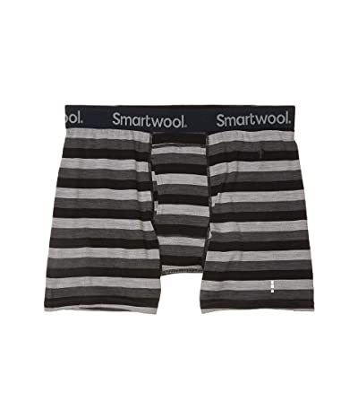 Smartwool Merino 150 Boxer Brief (Iron Stripe) Men
