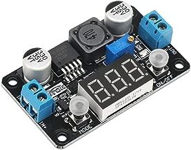 Step Down Module, DROK DC 4-32V to 1.25-30V 3A Adjustable Buck Converter, LM2596 Voltage Regulator Board, 24V 12V to 5V LED Power Supply Transformer