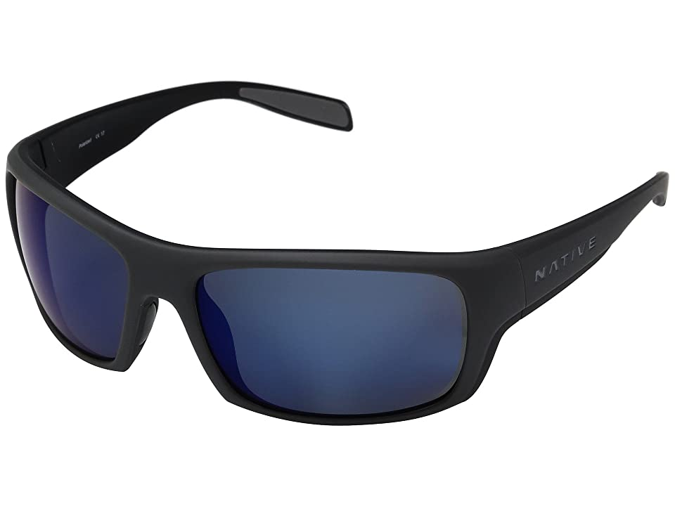 Native Eyewear Eddyline (Granite/Matte Black) Sport Sunglasses
