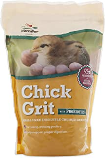 Manna Pro Chick Grit | Digestive Supplement for Young Poultry and Bantam Breed | Probiotics to Support Digestion | No Arti...