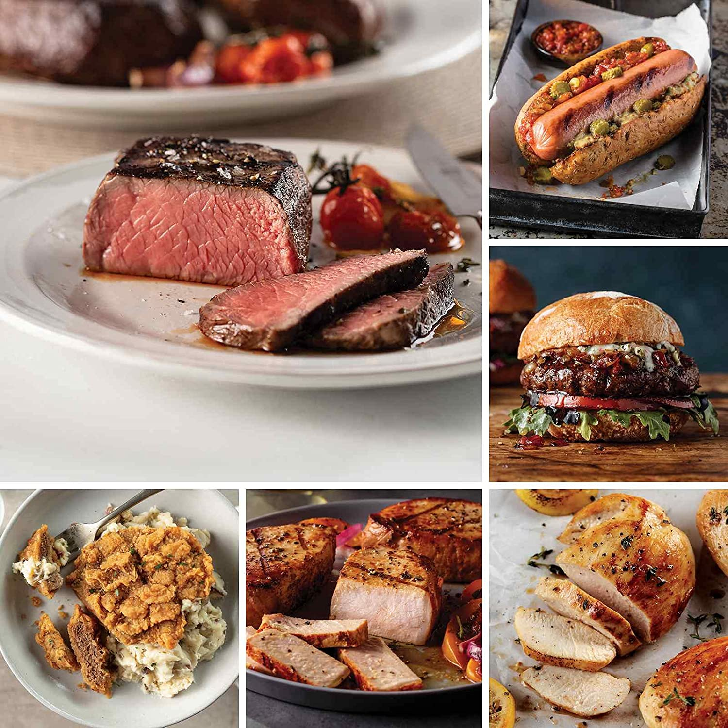 Butcher's Very popular! Cut Meal Pack from Steaks Omaha NEW Top Sir