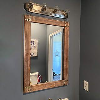 Wood Bathroom Mirror