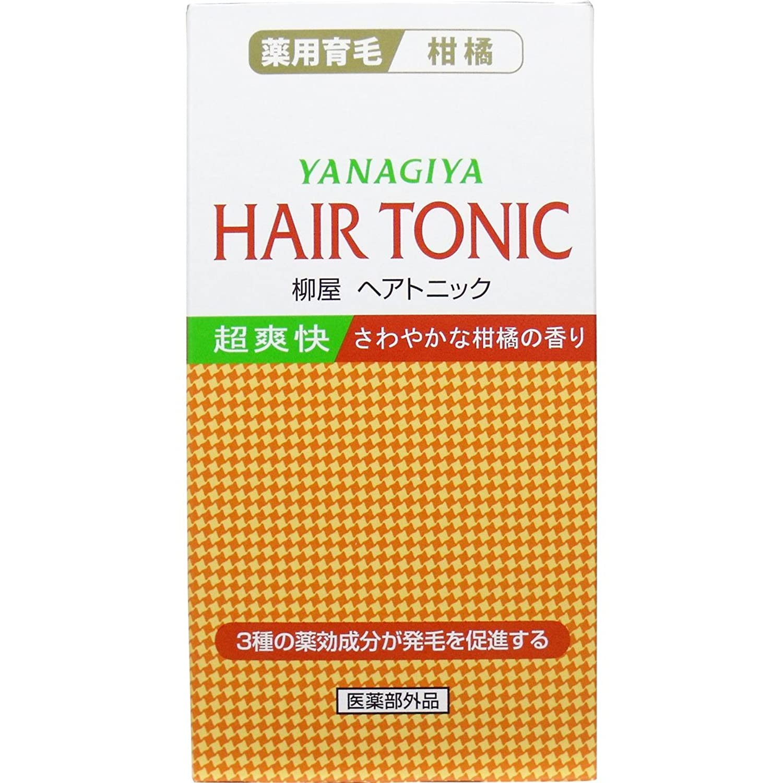 【柳屋本店】ヘアトニック 柑橘 240ml ×5個セット