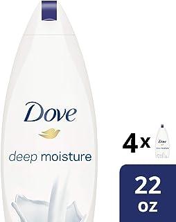 Dove  Deep Moisture Body Wash 22 oz, Pack of 4