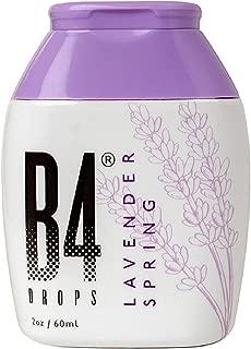 B4 Toilet Drops - Toilet & Bathroom Deodorizer Drops for Before You Go, 150 Uses - 2oz Bottle (Lavender Spring)