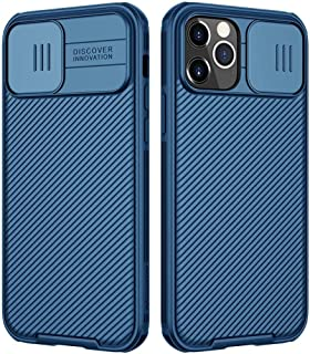 Nillkin Case for iPhone 12/12 Pro Cover Hard CamShield with Camera Slide Protective Cover [ Perfect Design Compatible with...