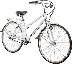 "700c Royce Union RMX Womens 3-Speed Commuter Bike, 17"" Aluminum Frame, White"