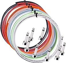Lava Piston Solder-Free Mini ELC Cable Kit with 12 Right Angle Plugs 5 ft. Black