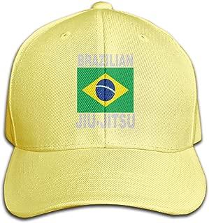 Unisex Brazilian Jiu Jitsu Denim Fabric Baseball Hat, Fahion Dad Cap