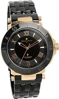 [サルバトーレマーラ]Salvatore Marra 腕時計 ウォッチ ブラック 電波ソーラー ビジネス フォーマル メンズ