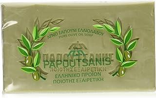 صابون روغن زیتون ، Papoutsanis ، CASE (6 125 125 گرم)