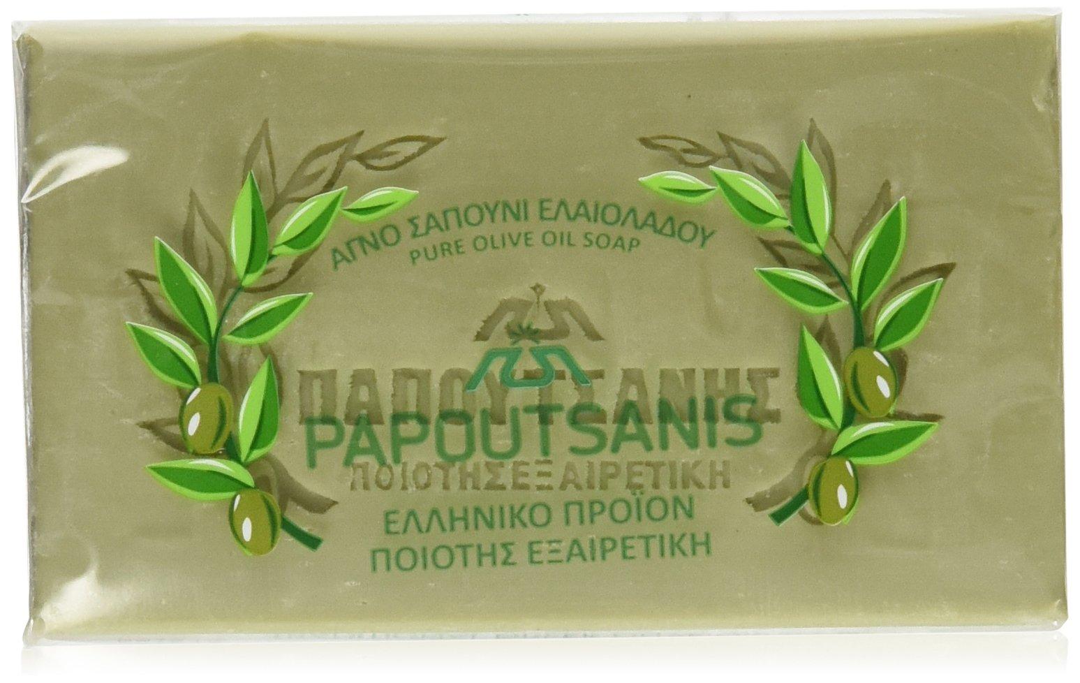 Olive Soap Papoutsanis CASE 125g