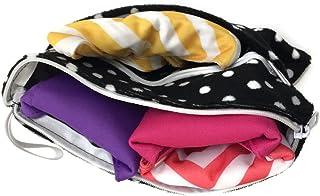 2 Maxi & 2 Regular Reusable Bamboo Mama Cloths Menstrual Pads Trial Bag Pack