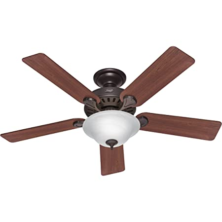 52 Decorative Ceiling Fan New Bronze Dark Walnut Medium Oak 3 Speed