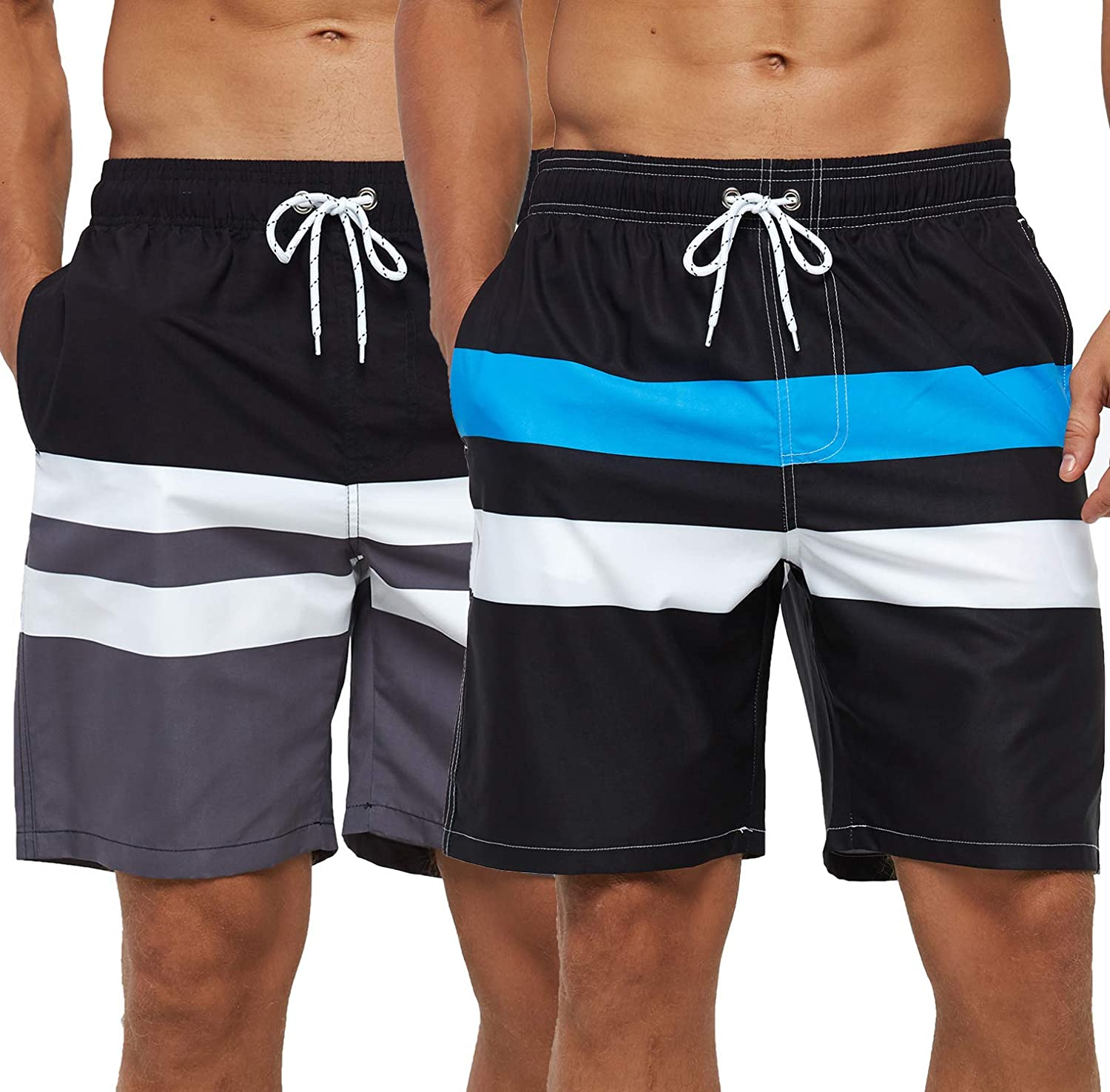 Low price OFFicial shop SILKWORLD Mens Swimming Shorts Quick Trunks Dry Beach Swimwear w