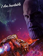 Thanos Quest Notebook: Blank Lined Superhero Gift Journal for Marvel Comic & Adventure Fans