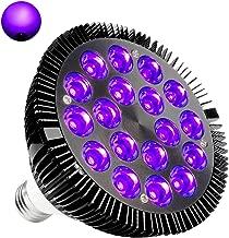 Black Lights Bulb, KINGBO 36W LED UV Light E26 PAR38 Glow in the Dark, 395nm LEDs Super..