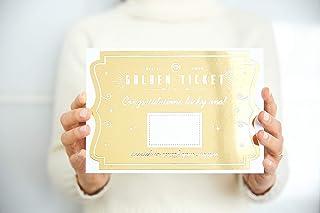 Golden Ticket – Tarjeta Dorada Rasca - Personalízala con el mensaje, regalo o sorpresa que quieras