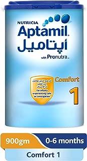 Aptamil Comfort 1 Infant Formula Milk, 900g