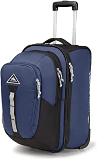 High Sierra Pathway Luggage Carry-On Wheeled Upright with Removable Daypack - High Sierra Backpack and Luggage Set - Upright Wheeled Luggage - 2-piece Luggage Set