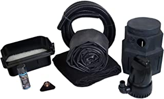 HALF OFF PONDS Complete 3000 Pond Free Waterfall Kit, with 7.5 ft by 20 ft EPDM Liner and 3,300 GPH Manta Series Submersible Pump - PSH30