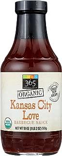 365 Everyday Value, Organic Kansas City Love Barbecue Sauce, 18 oz