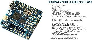 Matek MATEKSYS F411-WSE STM32F411 Flight Controller Built-in OSD for RC Airplane