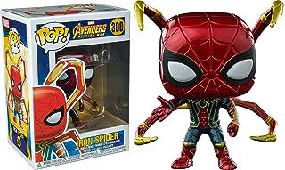 Película Funko Pop: Vengadores Infinity de hierro de guerra araña con patas de vinilo exclusivo.