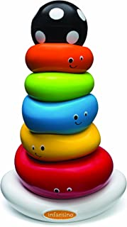 Infantino Ring Stacker, Funny Faces