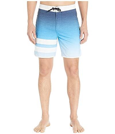 Hurley 18 Phantom Block Party Keep Cool Boardshorts (Photo Blue) Men