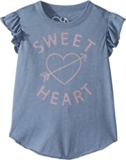 Soft Vintage Jersey Sweet Heart Tee (Toddler/Little Kids)