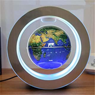 JSJJATQ Bordslampa nyhet rund LED flytande glob magnetisk levitation nattlampa antigravitation idéer lampa boll för barn b...