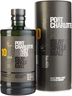 Bruichladdich Port Charlotte Scottish Barley 10 Jahre Single Malt Whisky 1 x 0.7 l