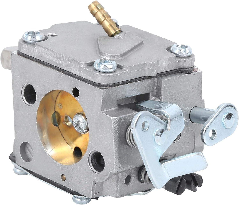 Carburador de motosierra Piezas de superficie de anodizado de aluminio fundido a presión aptas para 051, carburador de motosierra Reemplazo de carburador de motosierra