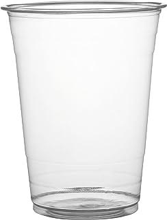 Fineline Super Sips 311698 PET Drinking Cup, 16 oz, Clear