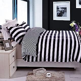 stripe duvet cover queen